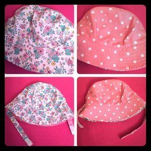 🆕 Carter's Baby Reversible Sun Hat